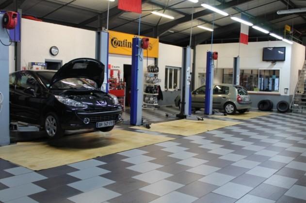 Le garage de la gare garagiste vente de v hicules neufs for Garage mecanique sartrouville