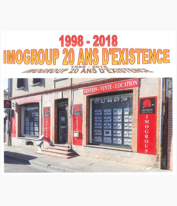 20 ans d existence Imogroup