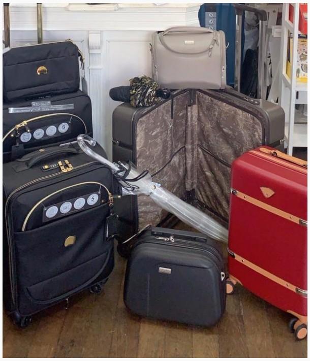 Les bagages de vos vacances