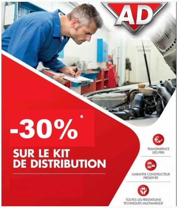 - 30% sur distribution