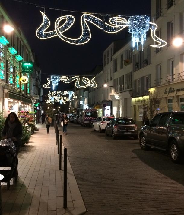 Illuminations des rues du centre ville