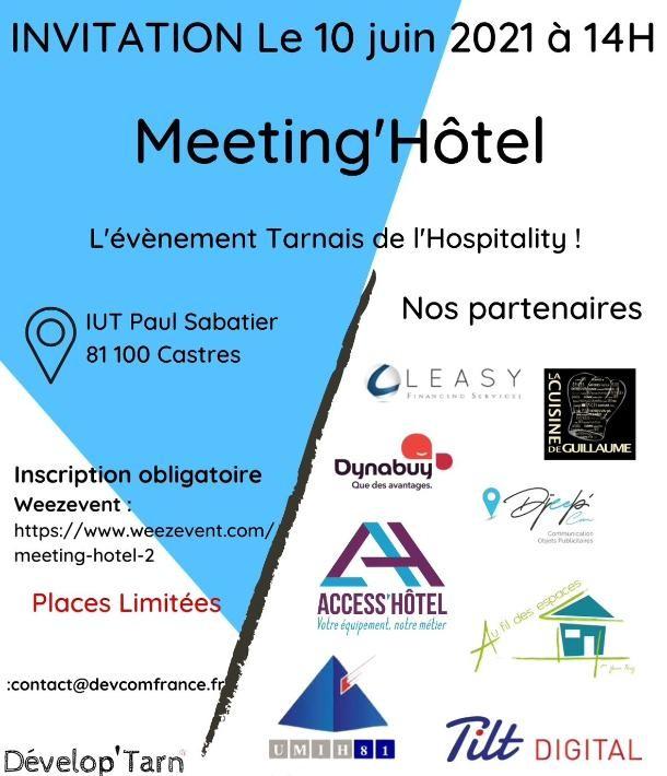 Meeting Hôtel :  l Hospitality Tarnais