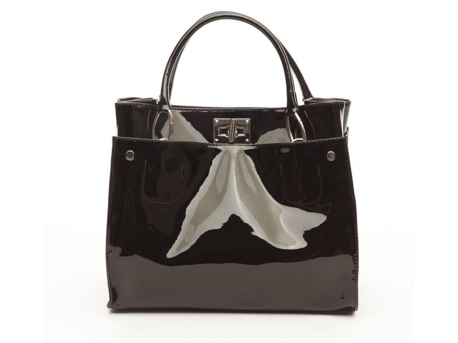 sac-portace-main-cuir-vernis-noir-20513