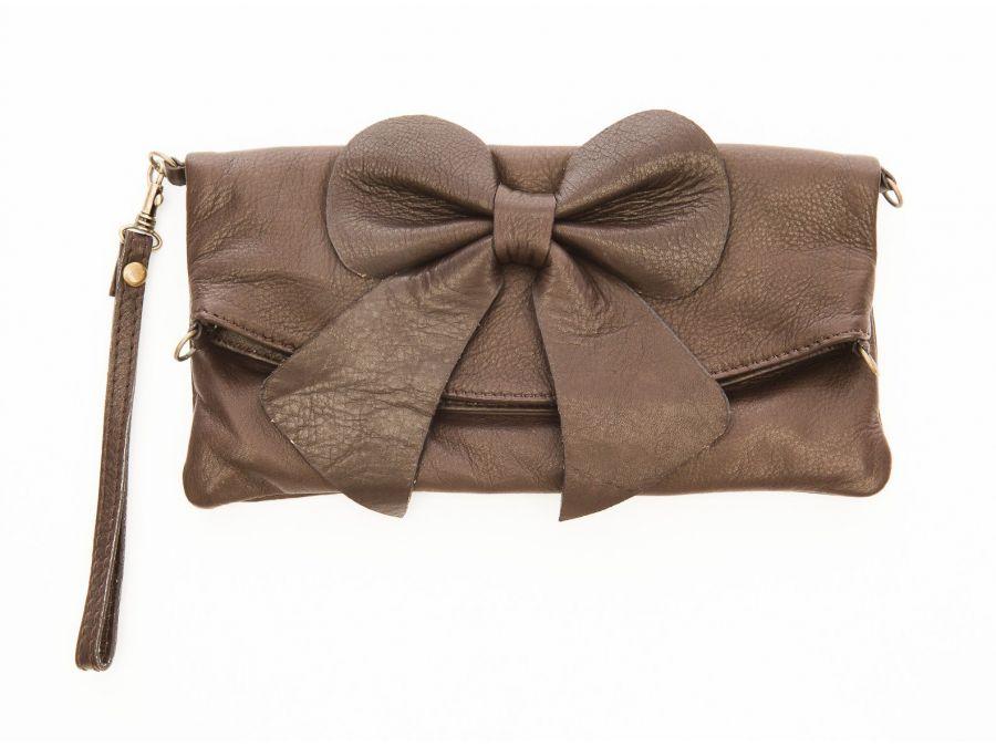 pochette-cuir-souple-noeud-marron-20530
