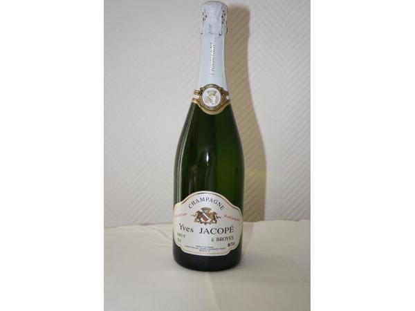 Champagne Brut  Blanc de Blancs Y.Jacopé