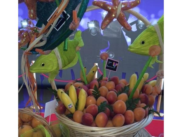 Corbeille de fruits anniversaire