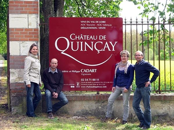 TOURAINE Blc-Château de Quincay