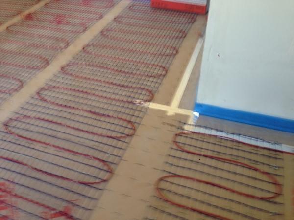 Plancher chauffant lectrique r novation travaux r f 25141 for Plancher chauffant electrique renovation