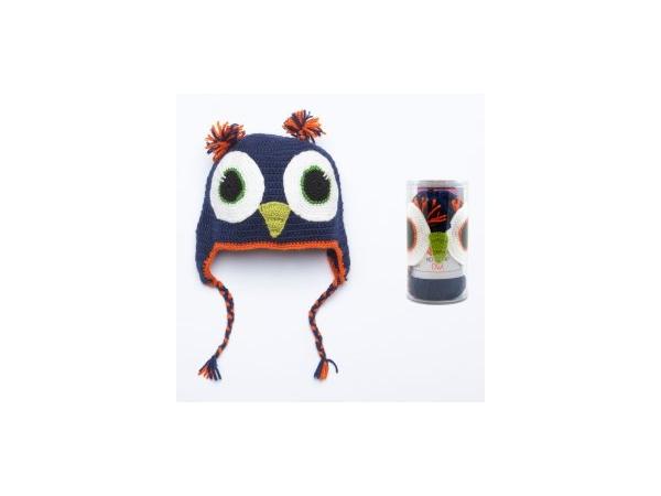 Kid cap owl