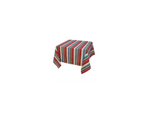 Nappe fil teint de 155x155 à 155x350 cm