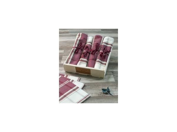 Serviette de table rustique 50x50 cm