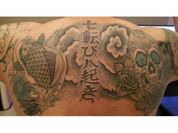 Tatouage 2016 - asiatique