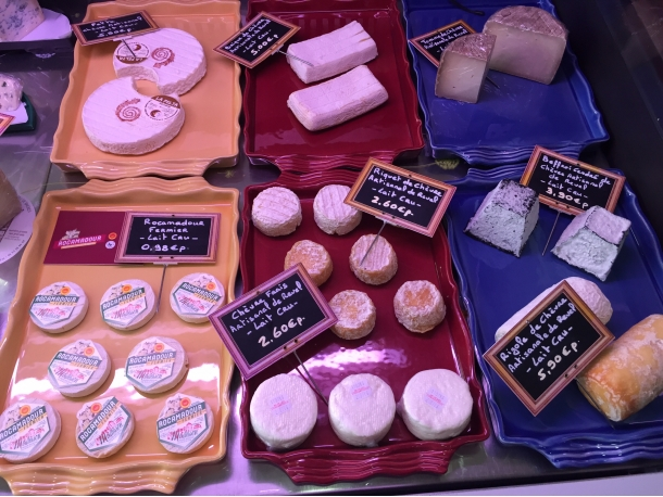 Fromages de chèvres, fromagerie