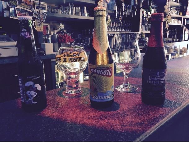Bières aromatisées aux fruits