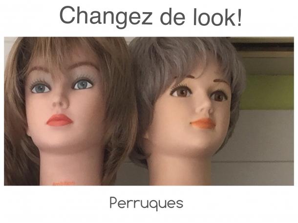 La perruque Gisela Mayer