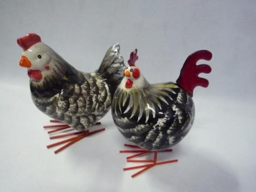 Collection de Poules et Coqs