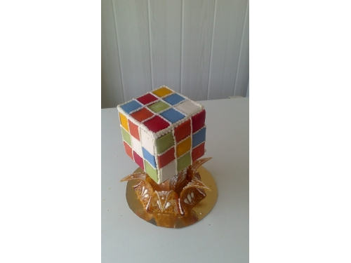 Gâteau Rubicube
