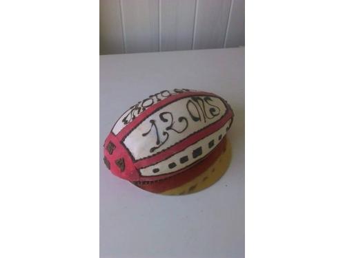 Gâteau Ballon de Rugby