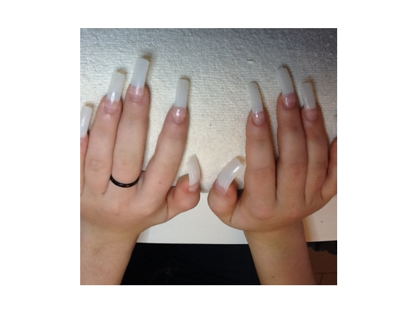 Extension sur ongles courts