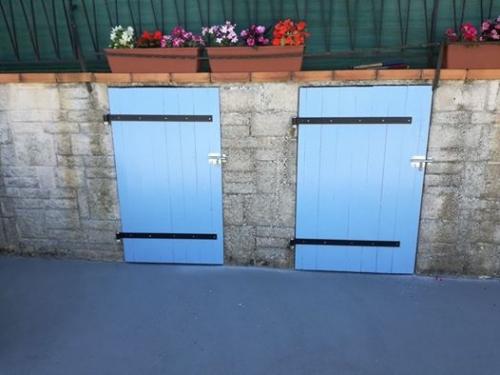 portes extérieures