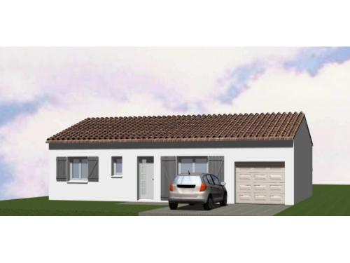Maison Frany SH 76 avec Garage