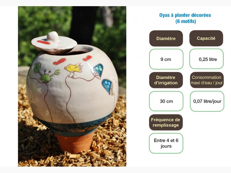OYAS à planter décorées