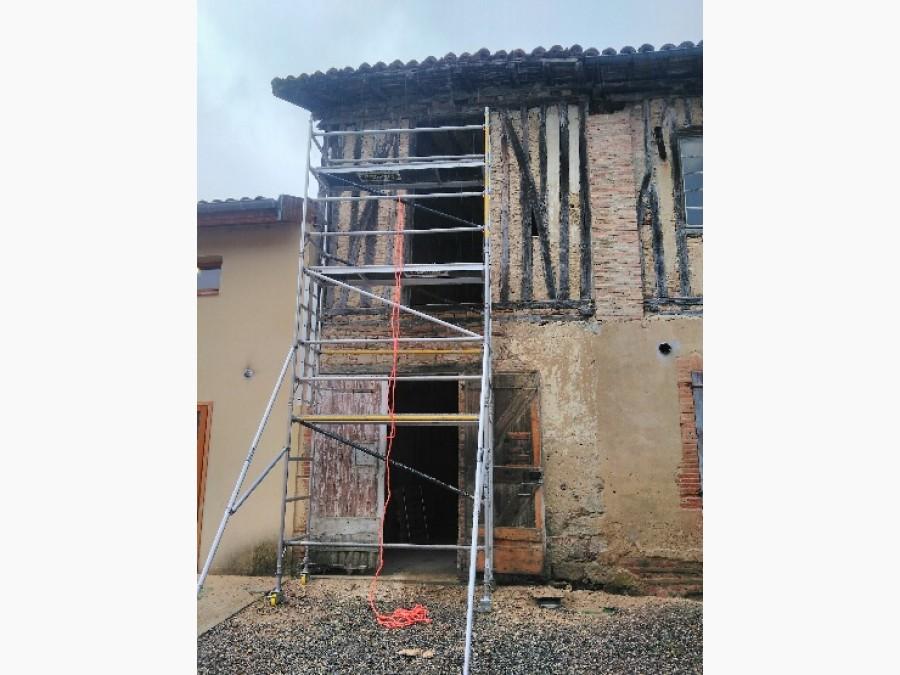 Rénovation à la chaux
