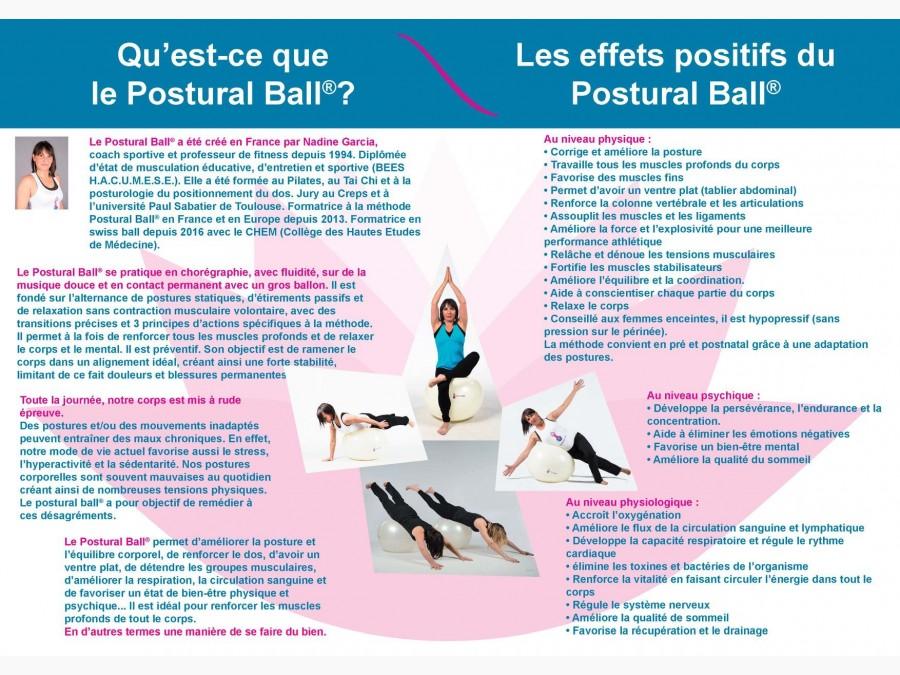 Cours collectifs Postural Ball Lavaur
