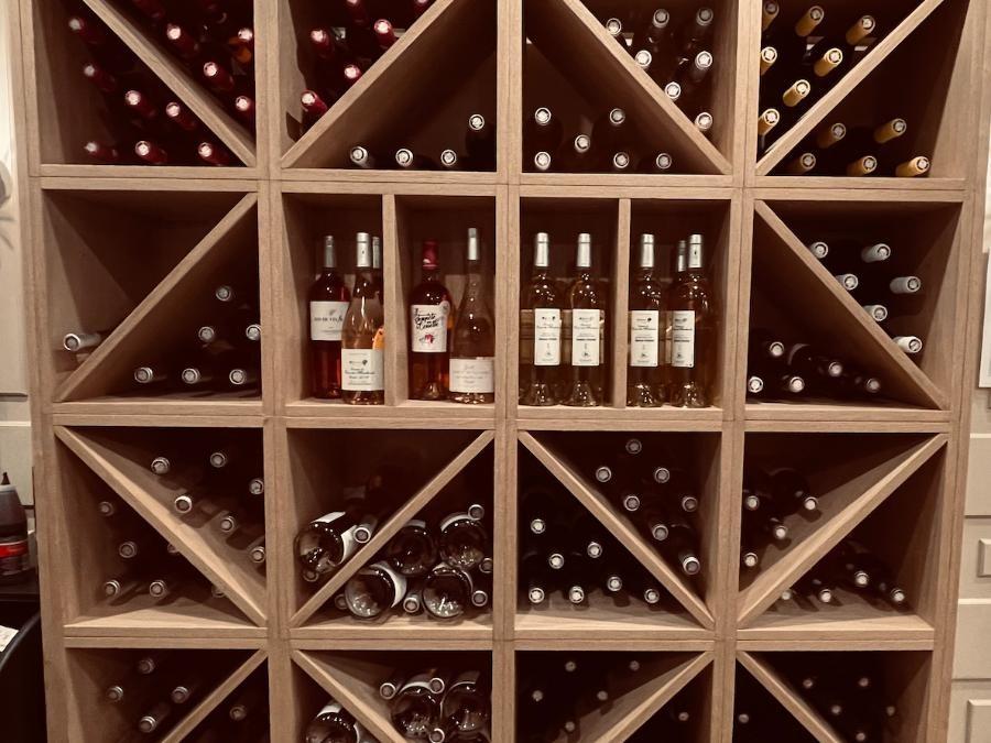 Nos vins Rouge  en construction