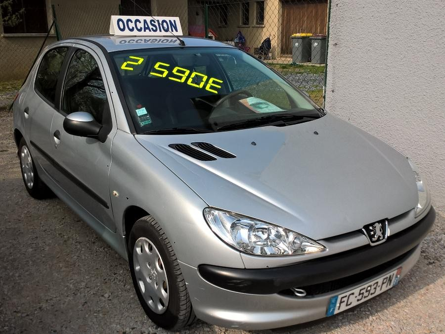 Peugeot 206 hdi 1.4L 70ch petit prix