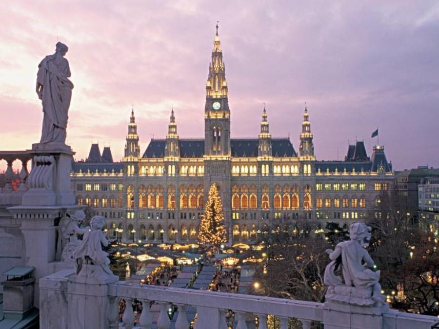 Marché de Noel à Vienne