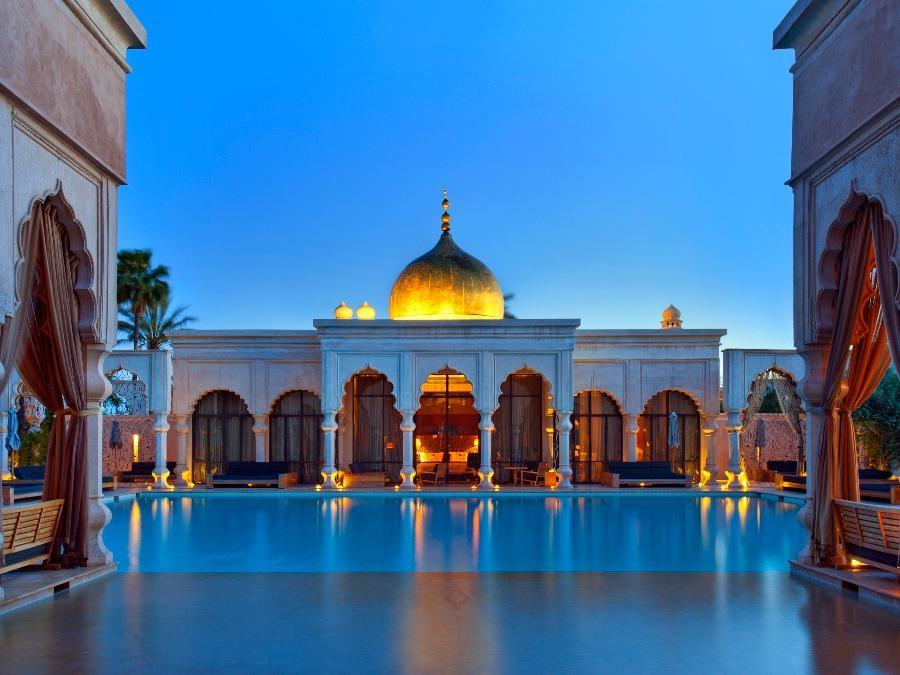 Marrakech élégante ville