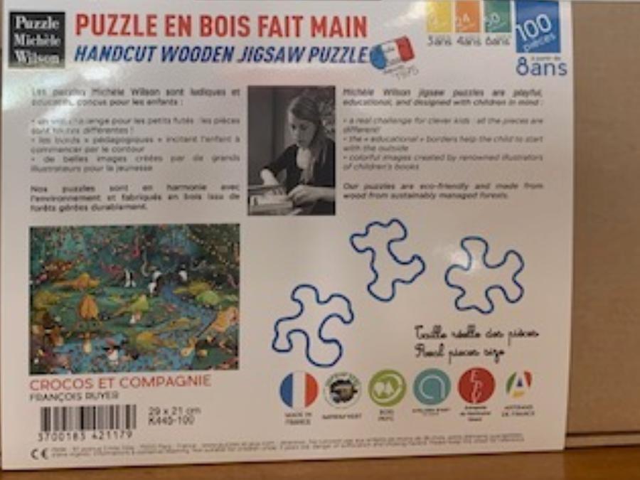 Puzzle fait main