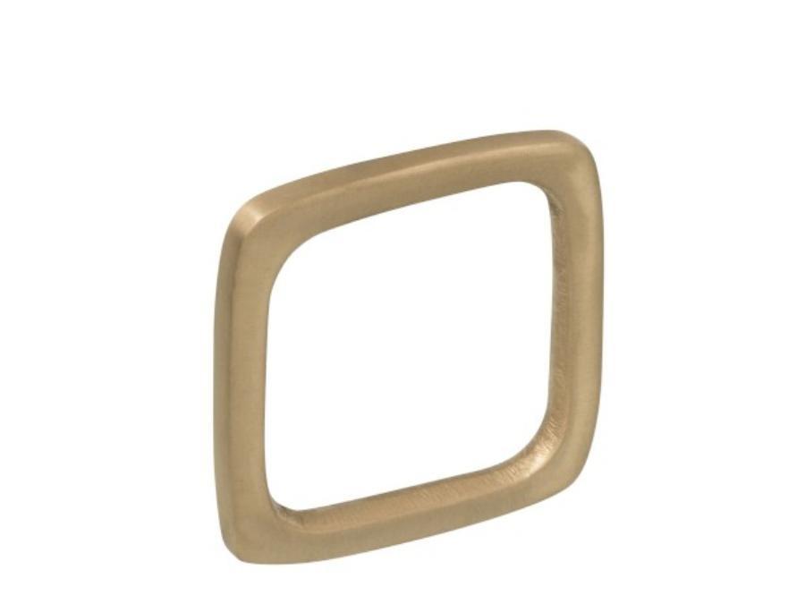 Ronds de serviettes métal doré