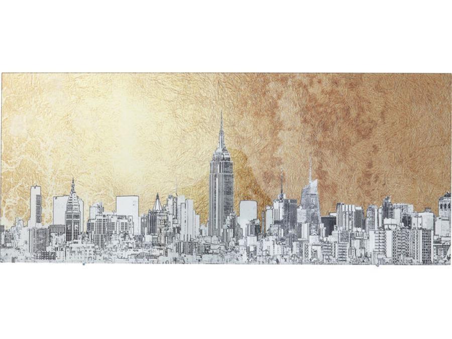 tableau-verre-metallic-new-york-view-36039