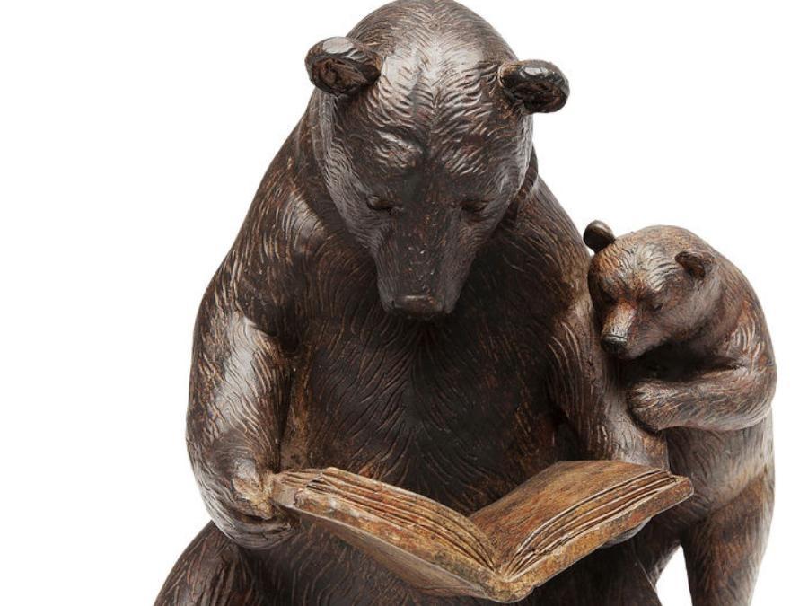 statuette-reading-bears-36040