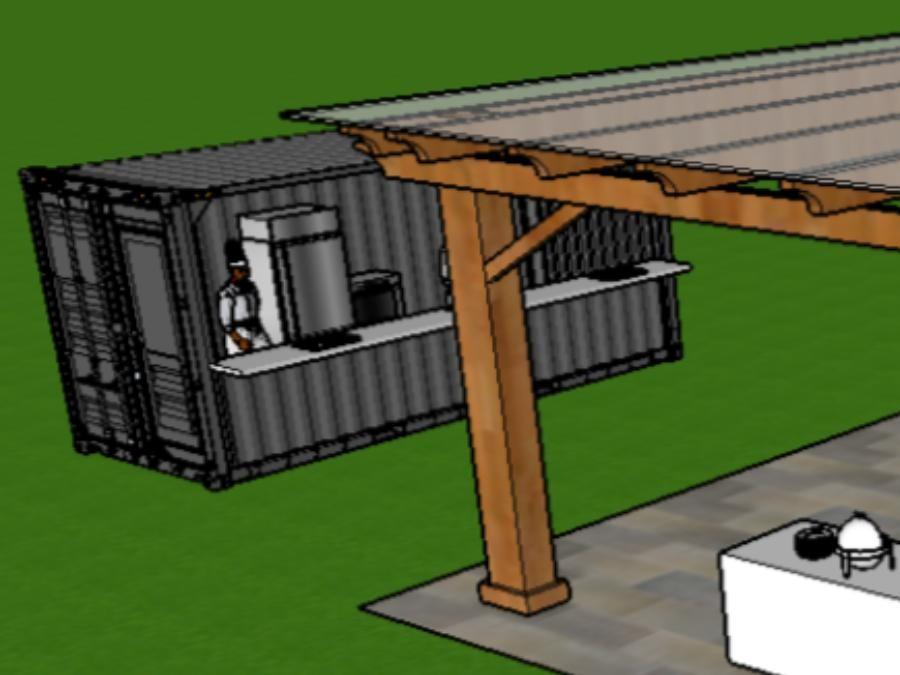 Espace terrasse