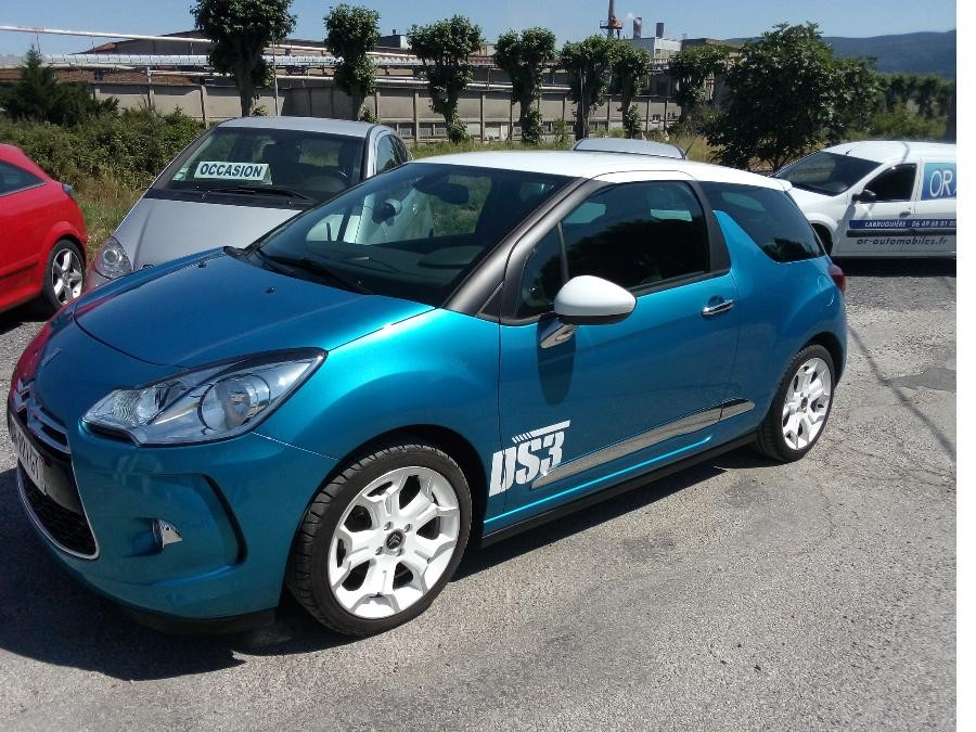 Citroen DS3 packs sport 112ch